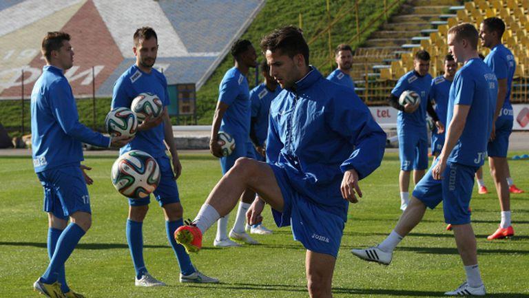 Левски започна подготовка за гостуването във Варна