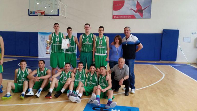 ГПЧЕ Правец е новият ученически шампион по баскетбол