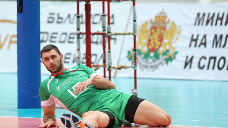 Лоши новини за волейболните национали, Цветан Соколов е аут до януари