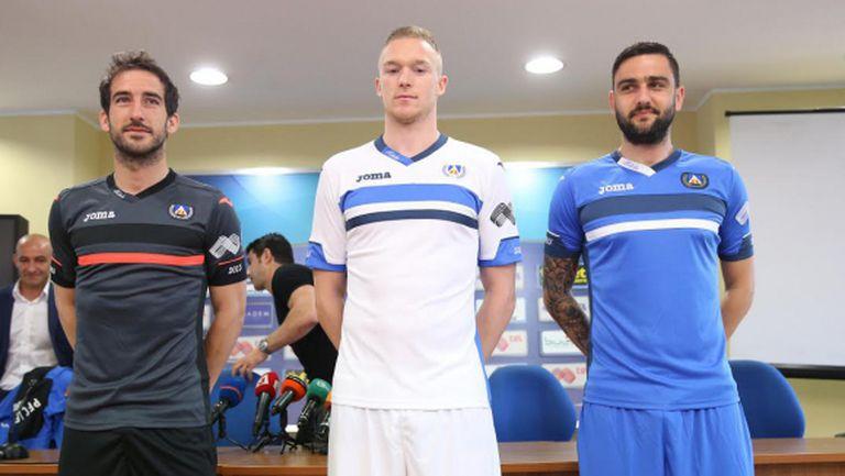 Левски представи екипите за новия сезон (видео+галерия)