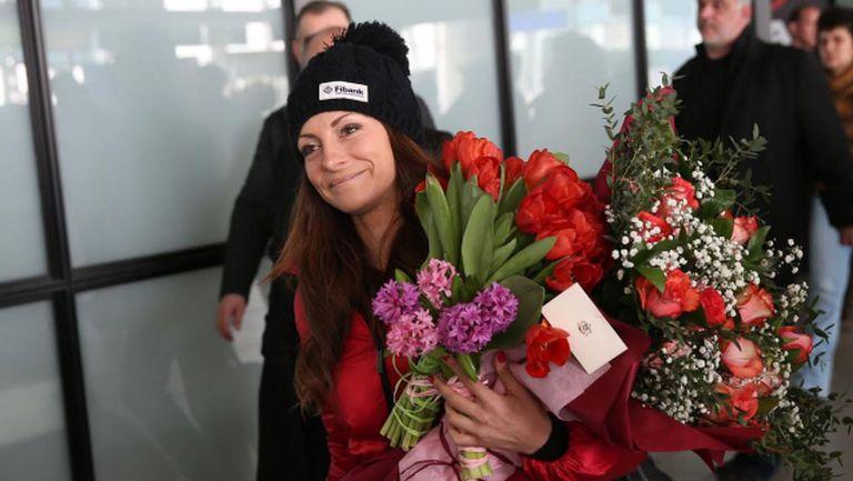 Александра Жекова ни отсрами в Сочи