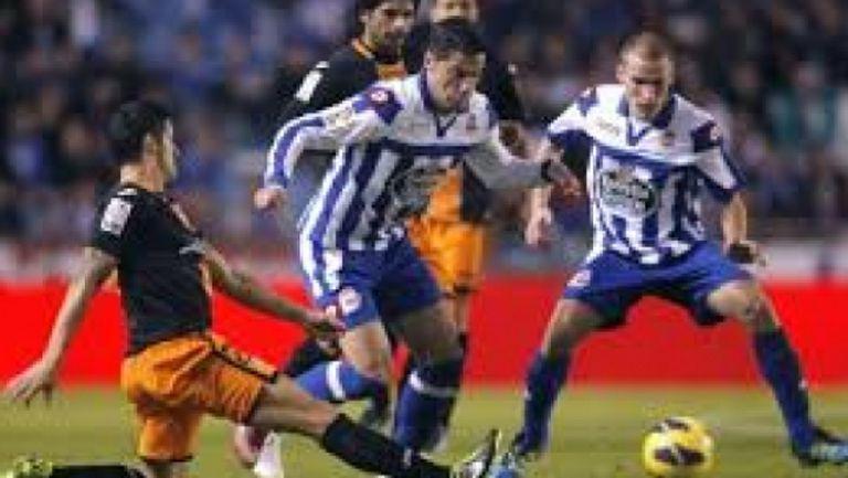Депортиво Ла Коруня - Валенсия 3:0