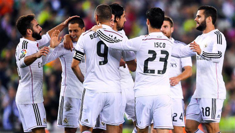 Корнея - Реал (Мадрид) 1:4