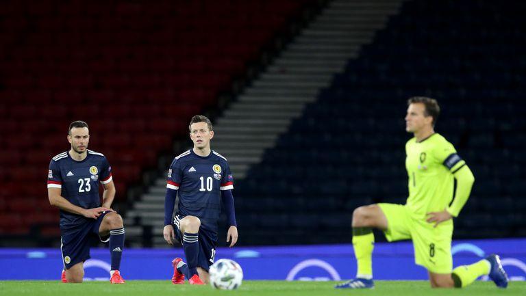 Шотландците няма да коленичат преди квалификацията с Австрия