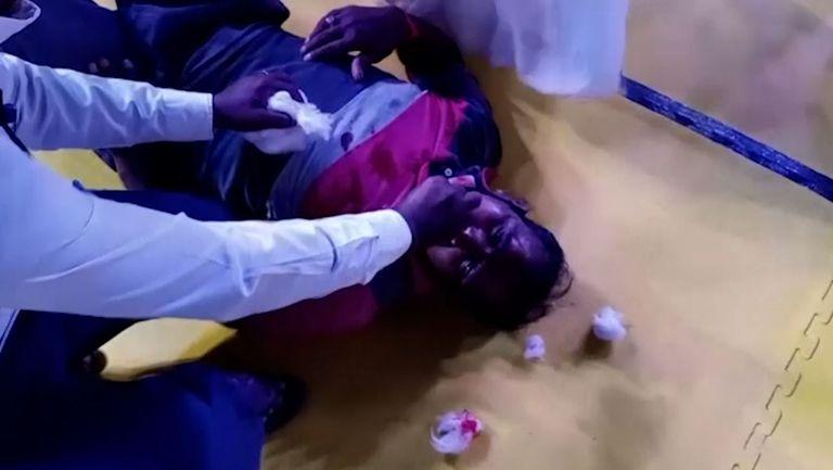 Ужасен инцидент на мач по кабади в Индия