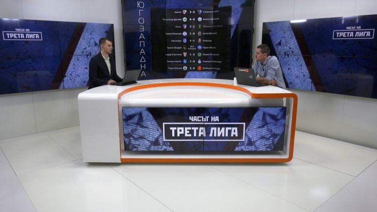 Битката на Югозапад през погледа на наставника на Оборище Кириакос Георгиу - гледайте Часът на Трета лига