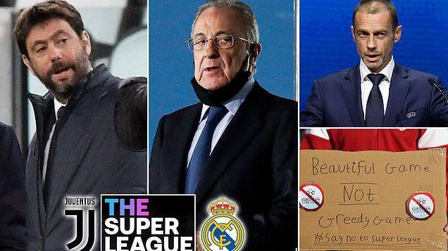 Днес УЕФА решава дали да накаже Реал Мадрид и Ювентус с изхвърляне от евротурнирите