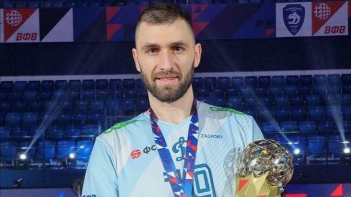 Огромно признание за Цветан Соколов в Русия🏐