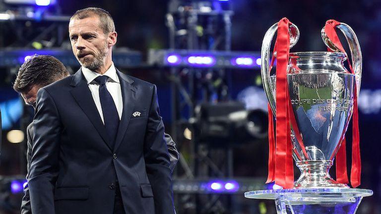 УЕФА само отлага санкциите, Чеферин заплаши четири клуба