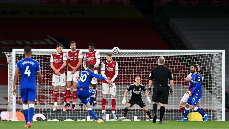 Арсенал - Евертън 0:1