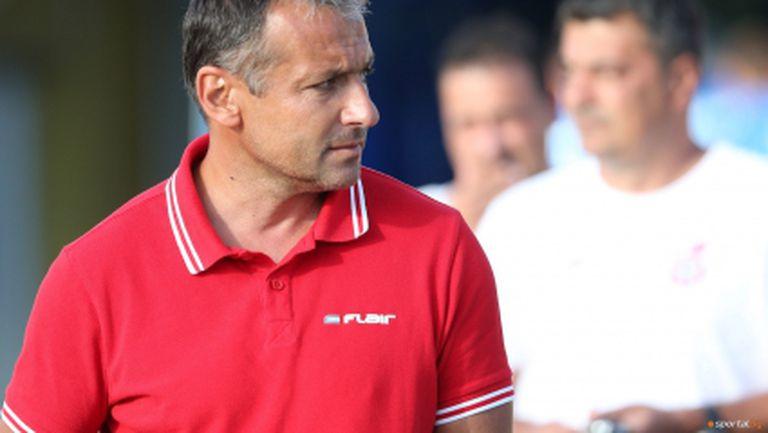 Димчо Ненов: Още срещу Лудогорец видях, че ще имаме проблеми с Марек