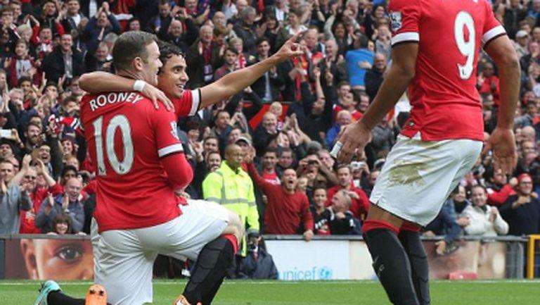 Ман Юнайтед пак имаше неприятности, но въпреки това успя да запише втора победа