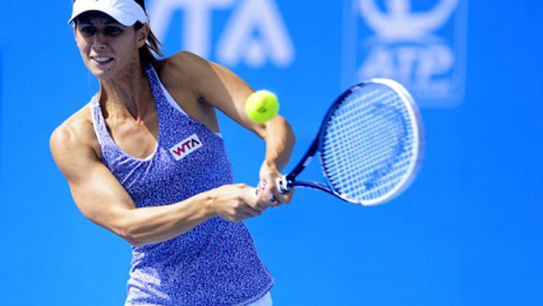 Пиронкова среща Ковинич в първия кръг на турнира в Москва
