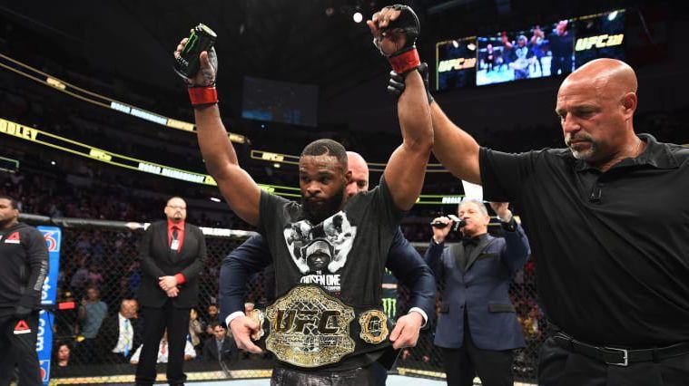 UFC се разделиха с Тайрън Уудли