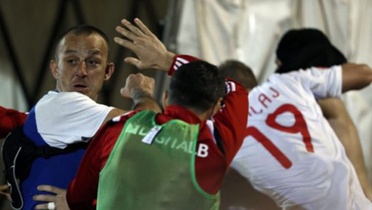 УЕФА ще разследва инцидентите на мача Сърбия - Албания