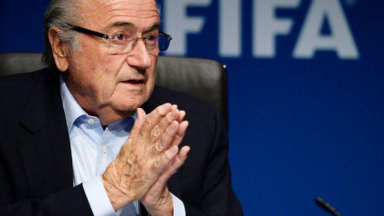 Блатер: Футболът не бива да бъде използван за политически послания