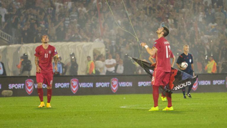 15 арестувани фенове след скандалния мач в Белград