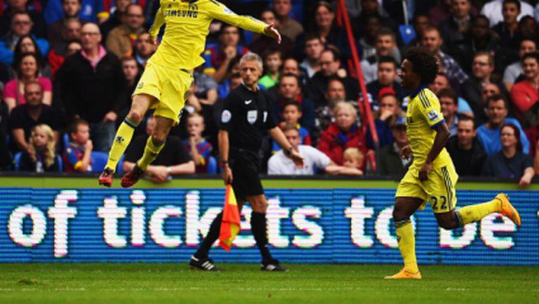 Челси би и без Диего Коща и запази аванса си пред Манчестър Сити (видео)