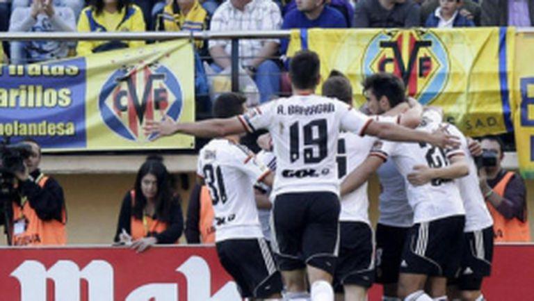 """Валенсия се намърда на второ място след триумф на """"Ел Мадригал"""""""