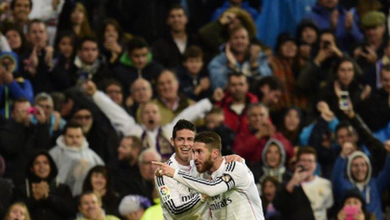 """""""Бялата"""" машина от Мадрид пак кове голове и победи (видео)"""