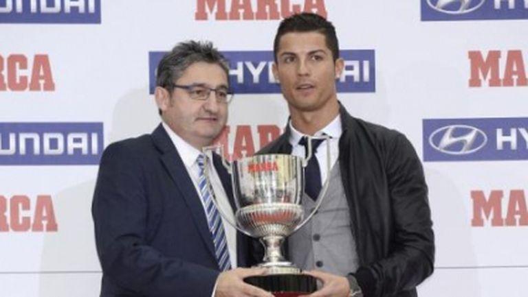 """Марка"" връчи две награди на Роналдо"