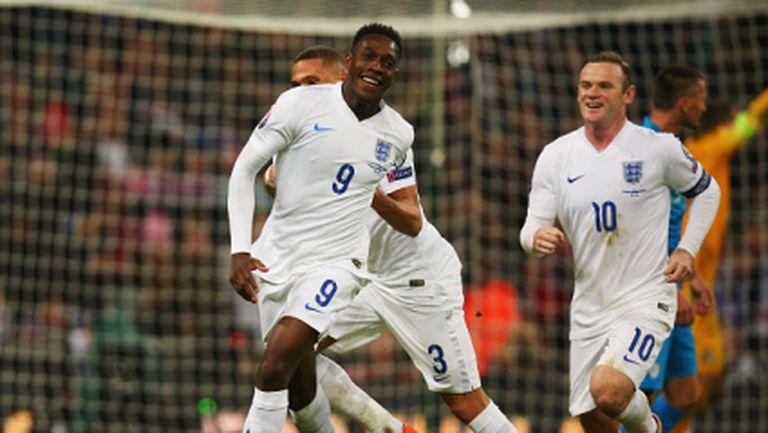 Англия обърна Словения в 100-ия мач на Рууни, Сан Марино с историческа първа точка (видео)