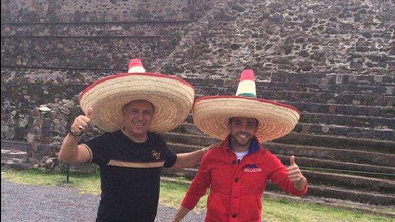 Христо Стоичков покори пирамиди на ацтеките (СНИМКИ)