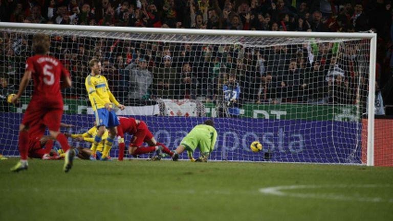Роналдо наказа Швеция и приближи Португалия до Мондиал 2014 (видео)