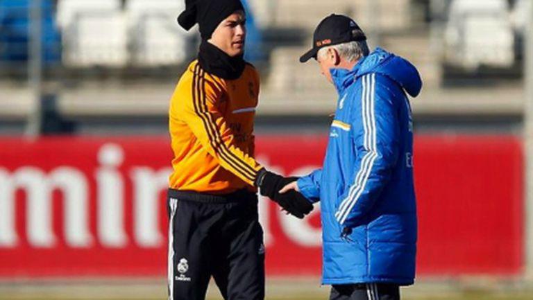 Кристиано и Рамос отново тренират с групата