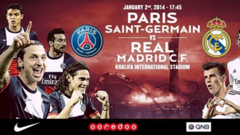 Реал Мадрид и ПСЖ ще играят контрола на 2 януари