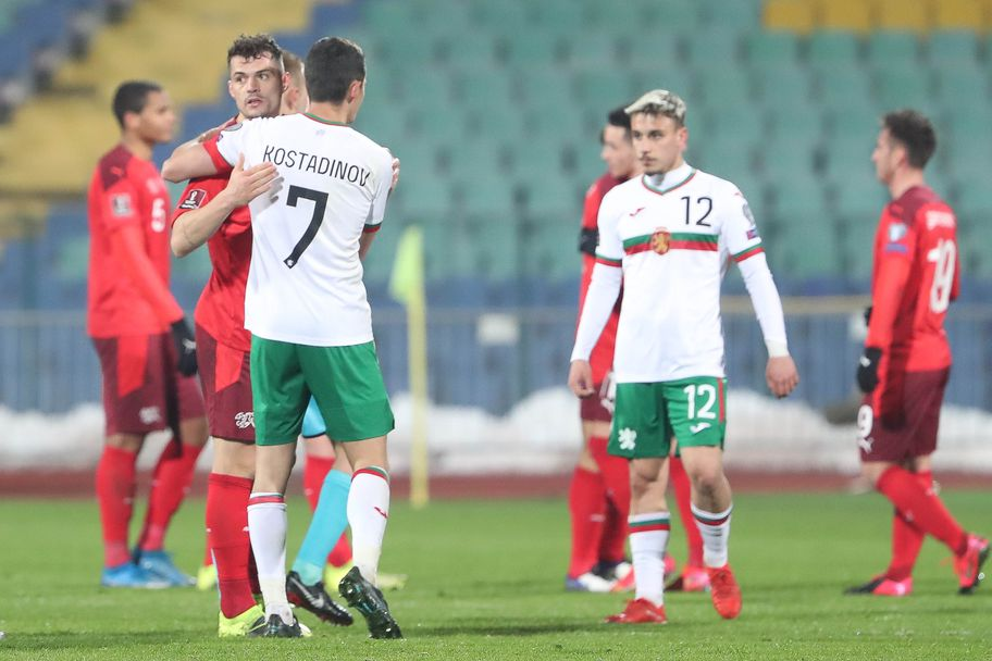 България - Швейцария