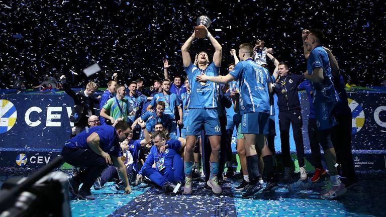 Цецо Соколов и Динамо спечелиха Купата на CEV