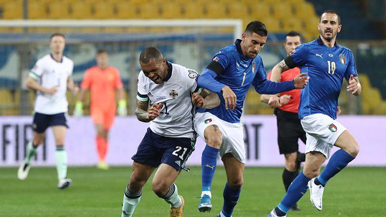 Берарди и Имобиле донесоха успеха на Италия срещу Северна Ирландия