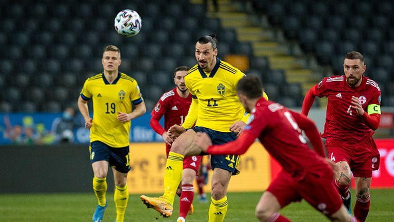 Швеция - Грузия 1:0