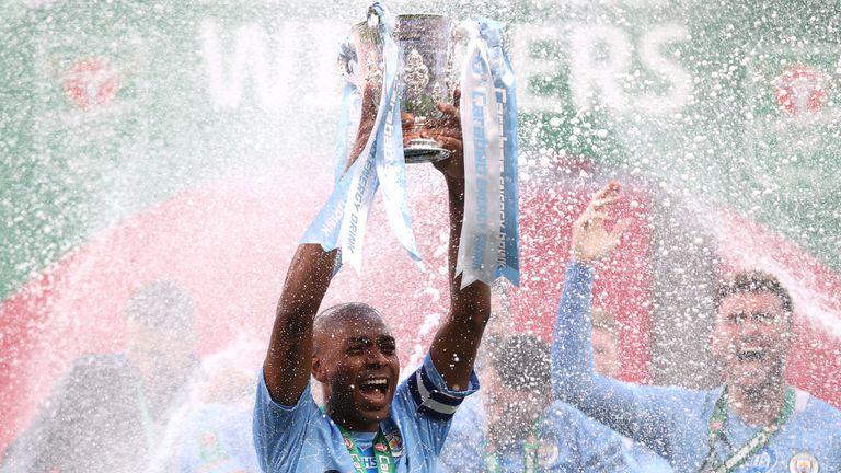 Манчестър Сити с четвърта поредна Купа на Лигата (видео)