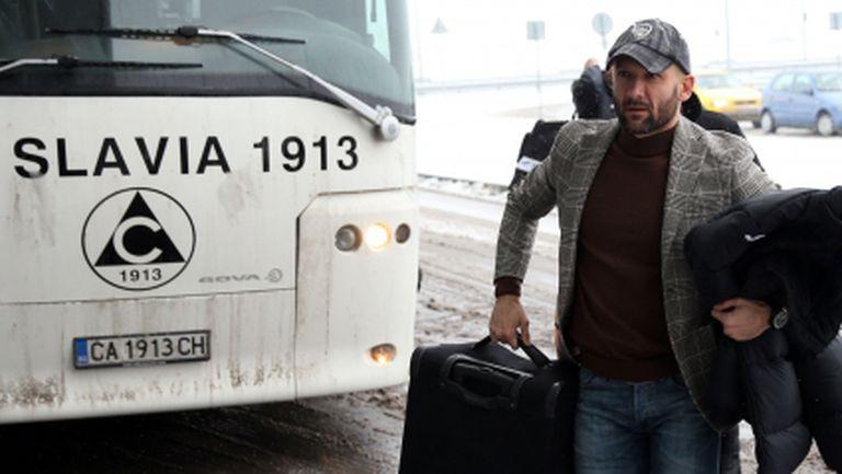 Славия задържа словенеца Тадей Апатич