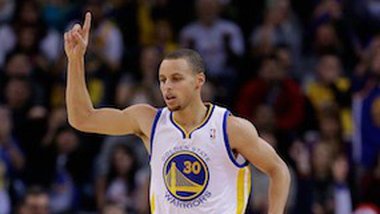 Стеф Къри постави рекорд на НБА по вкарани тройки