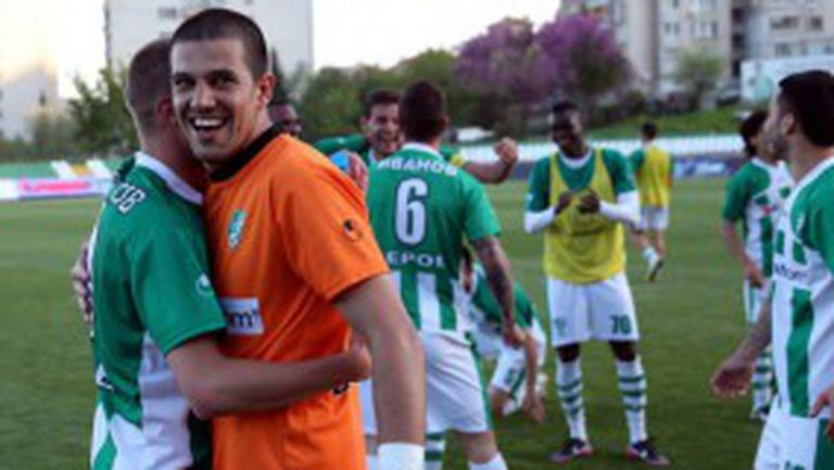 Берое загря за финала с Левски с победа в Ловеч (видео)