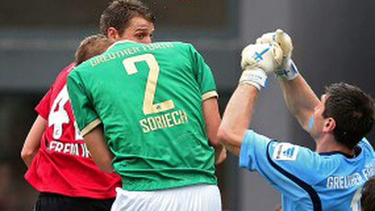 Фрайбург мечтае за Шампионската лига