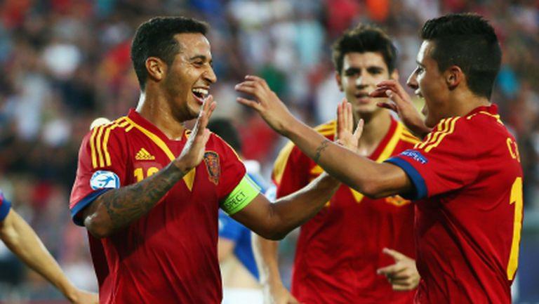 Могъщата Испания спечели европейската титла и при младежите