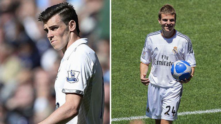 """Фенове на Реал Мадрид скандират """"Искаме Бейл"""" на представянето на Ияра"""
