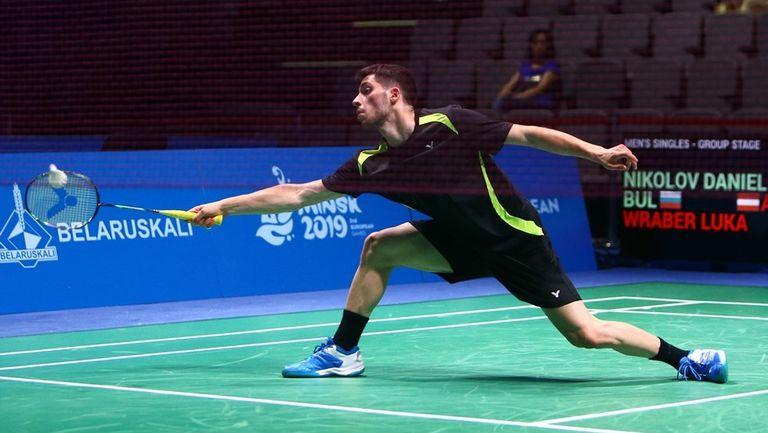 Даниел Николов преодоля квалификациите на турнир по бадминтон в Полша