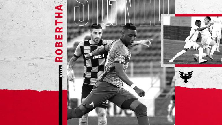 Ди Си Юнайтед обяви привличането на Робърта