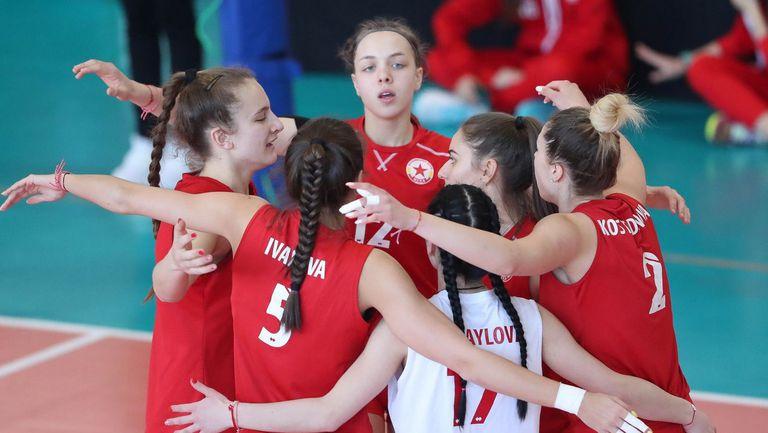 Волейболистките на ЦСКА се наложиха с 3:0 над Локо (Сф) в първия плейоф