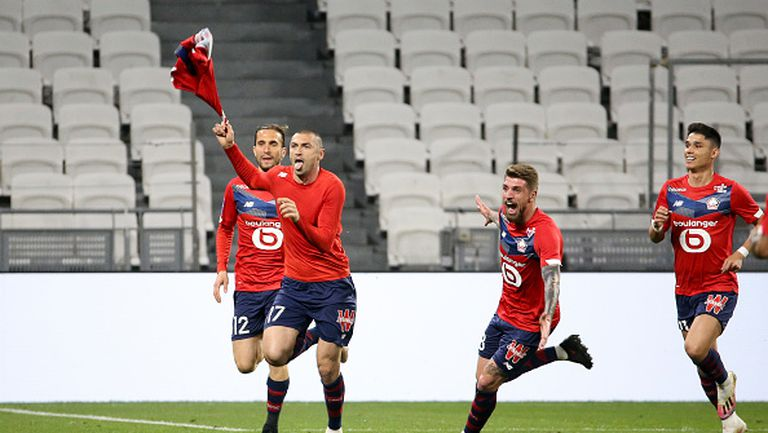 Лил победи Лион с 3:2 и направи важна крачка към титлата във Франция