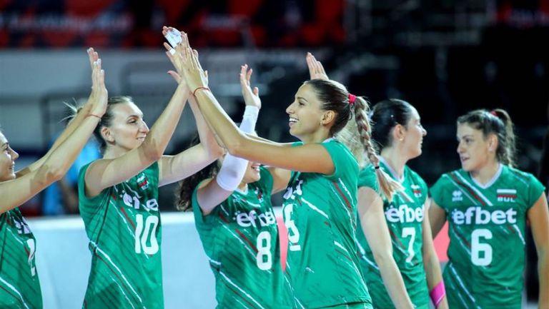 Разширен състав на женския национален отбор по волейбол