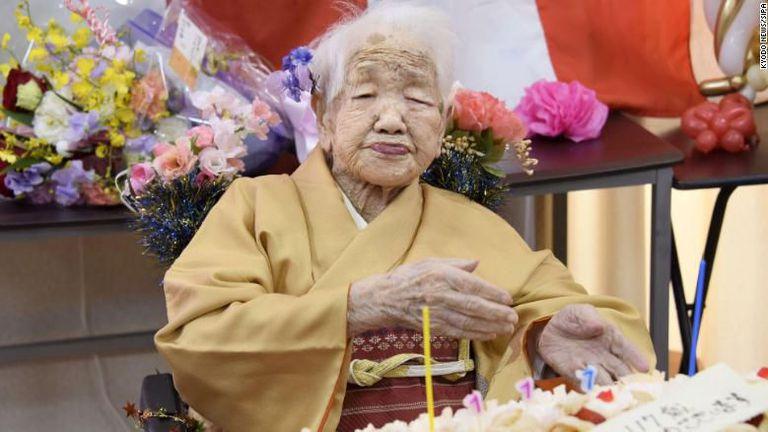 Най-възрастният човек в света - японката Кане Танака, няма да участва в щафетата с олимпийския огън заради пандемията
