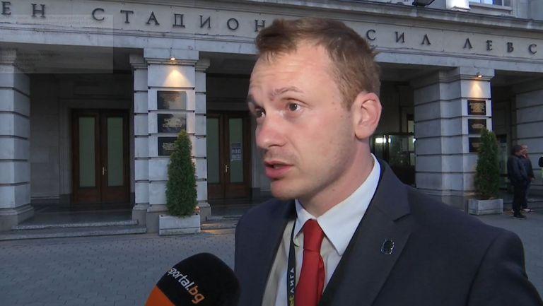 Добрин Гьонов: Ще гоним четвъртото място