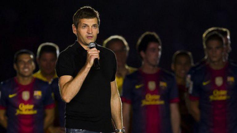 Тито Виланова се сбогува с Барселона с отворено писмо