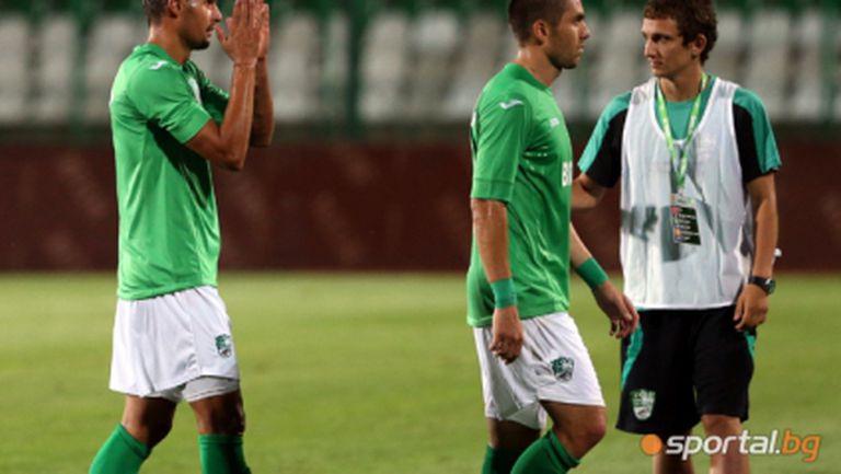 Берое без трима основни играчи срещу Славия